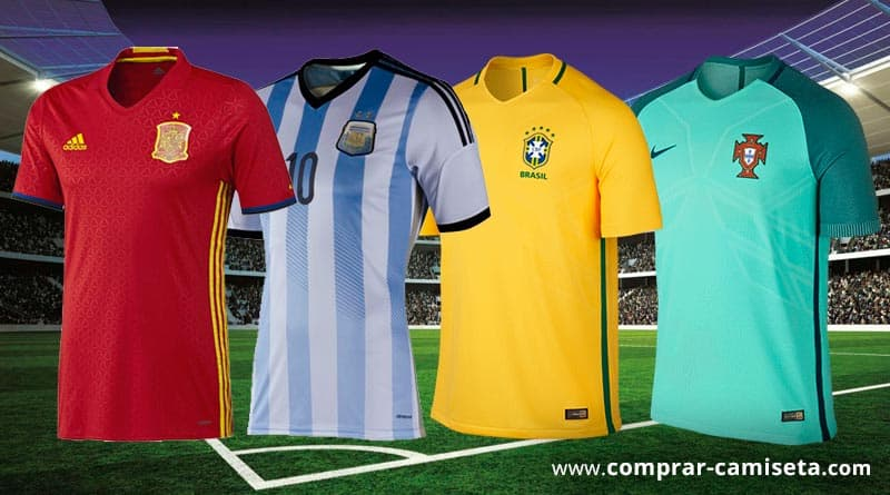comprar camisetas de selecciones fútbol