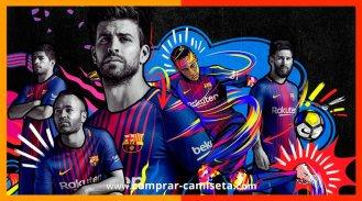 Nueva camiseta Barcelona temporada 2017, 2018