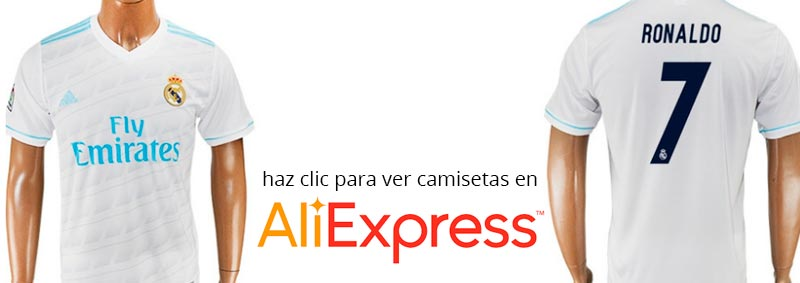 Nueva camiseta del Real Madrid en Aliexpress