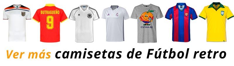 Camisetas de fútbol antiguas, retro, vintage... originales y replicas que se pueden comprar en Amazon y Ebay