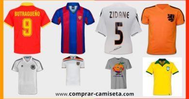 Camisetas de fútbol antiguas o retro que puedes comprar en Amazon o Ebay