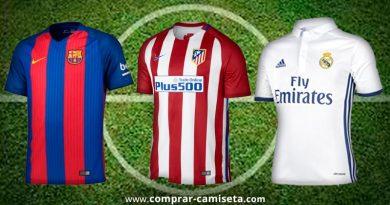 Comprar camisetas de fútbol en Ebay