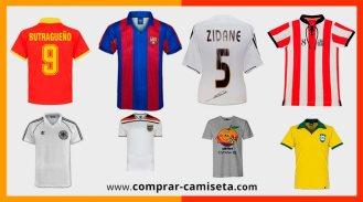 Camisetas de fútbol retro, antiguas o clásicas del Madrid, Barca, Atlético, selecciones,,,