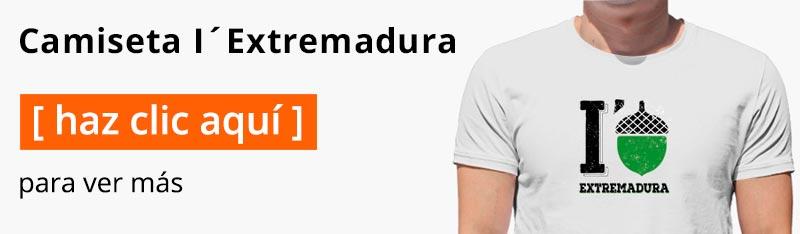 Camiseta I love Extremadura