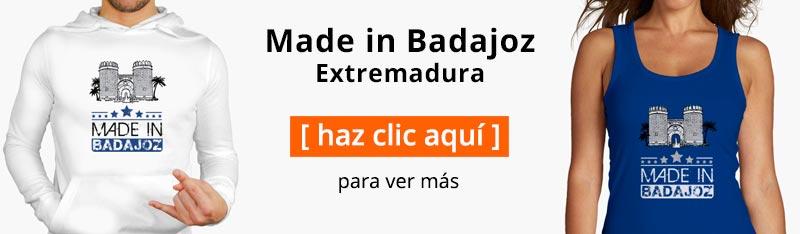 Camiseta Badajoz Extremadura