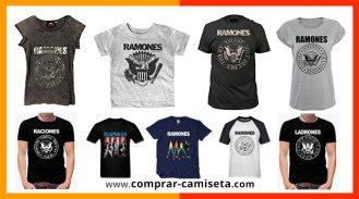 Comprar camisetas de Los Ramones originales y baratas