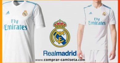 Nueva camiseta Real Madrid temporada 2017 – 2018