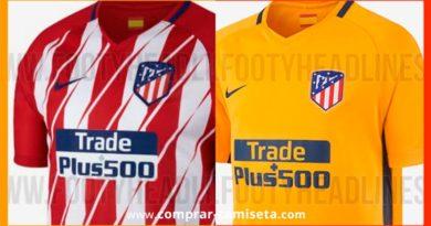 Nueva camiseta Atlético de Madrid temporada 2017 – 2018