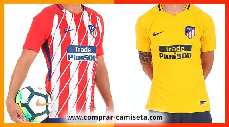 Nueva camiseta Atlético de Madrid temporada 2017 - 2018