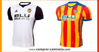 Nueva camiseta del Valencia temporada 2017 - 2018