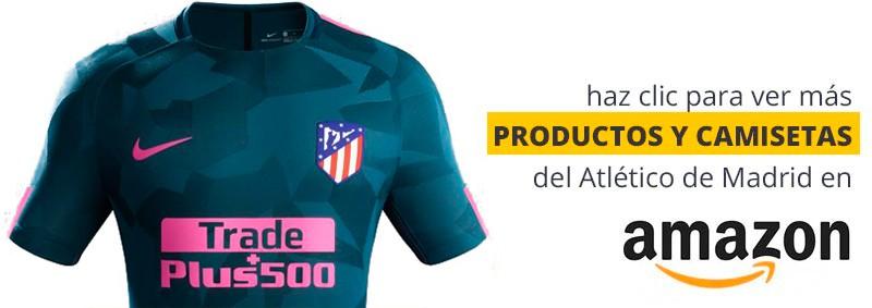 tercera equipación del Atlético de Madrid 2017 - 2018