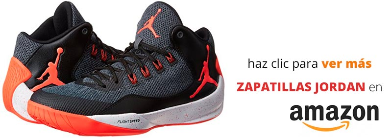 Ver zapatillas Jordan en Amazon