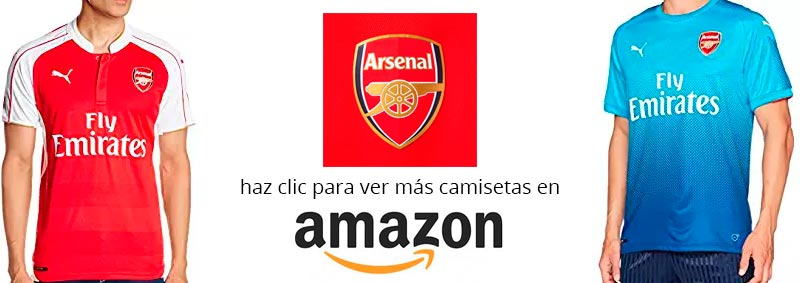 camiseta del Arsenal temporada 2017-2018