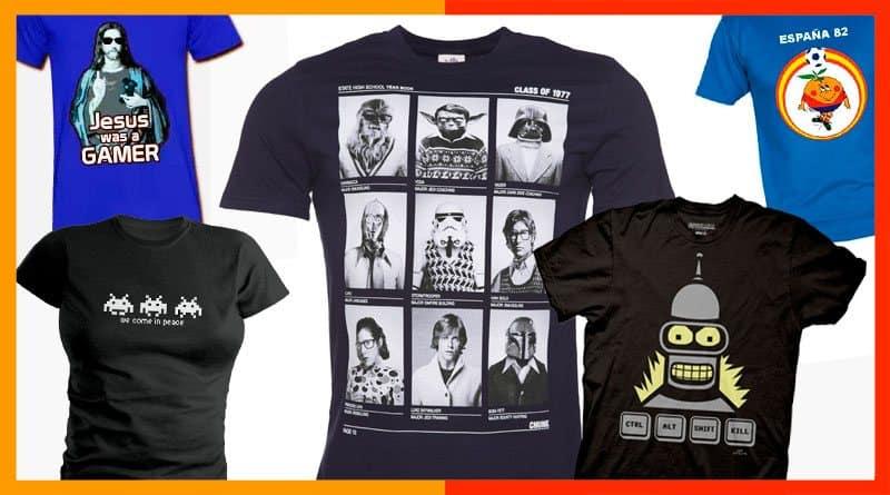 Como encontrar una tienda de camisetas friki para regalar