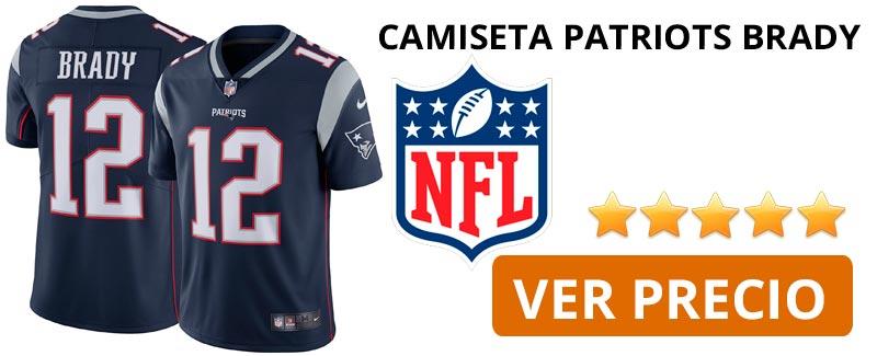 Comprar camiseta New England Patriots Brady