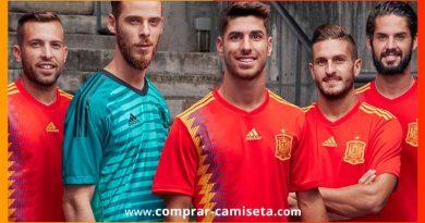 Camiseta España Mundial Rusia 2018