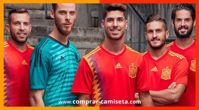 Camiseta selección España Mundial Rusia 2018