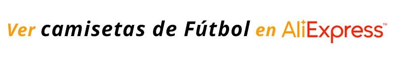 camisetas de fútbol en AliExpress