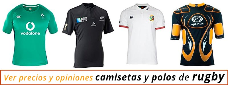 Camisetas de rugby baratas