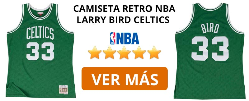 Comprar camiseta retro NBA Boston Celtics de Larry Bird