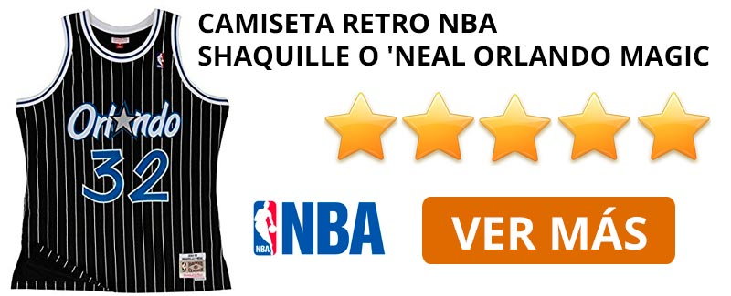 Comprar camiseta retro NBA Orlando Magic de Shaquille O 'Neal