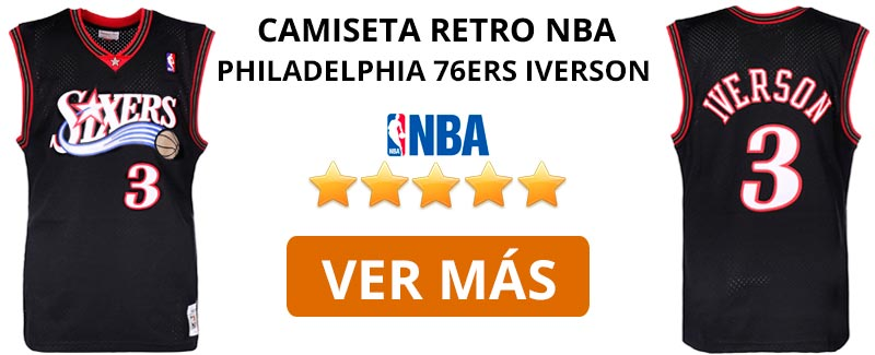 Comprar camiseta retro NBA Philadelphia 76ers Julius Erving