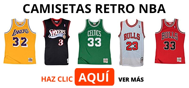 Comprar camisetas Retro NBA réplicas