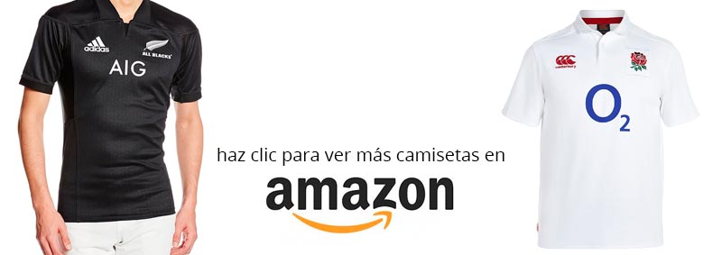 camisetas de rugby y mas en Amazon