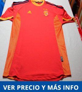 Comprar camiseta de España Mundial de Corea - Japon - 2002