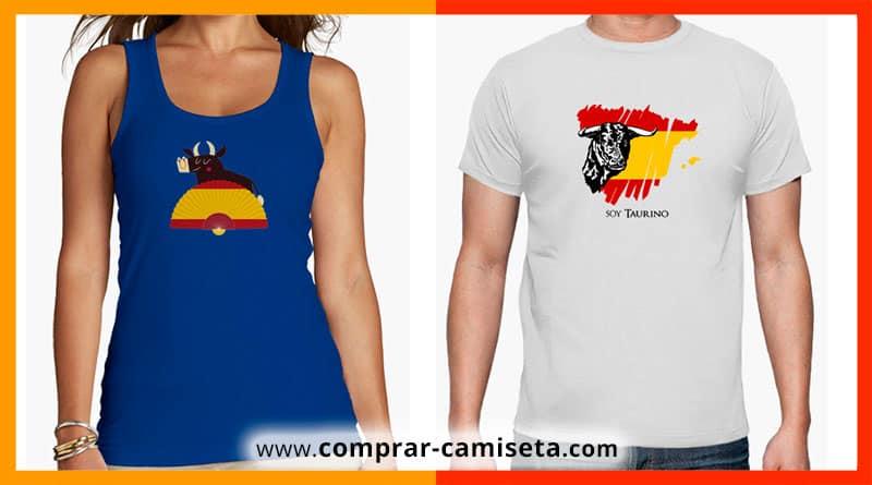 Comprar camisetas taurinas o de toros para hombre, mujer, niños...