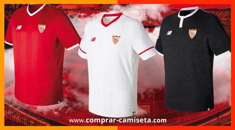 2017 Fútbol Camiseta 2018 Nueva Temporada Sevilla PnfIwHx