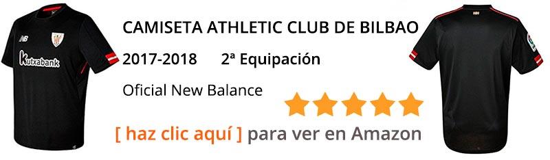 Nueva camiseta Athletic Club de Bilbao temporada 2017 - 2018 - segunda camiseta