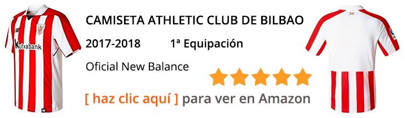 Ver Nueva camiseta Athletic Club de Bilbao temporada 2017 - 2018
