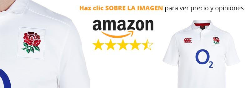 Camiseta de rugby Canterbury de Inglaterra
