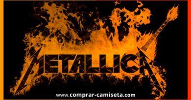 Comprar camisetas de Metallica