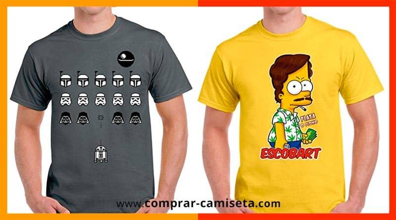 Donde comprar camisetas frikis