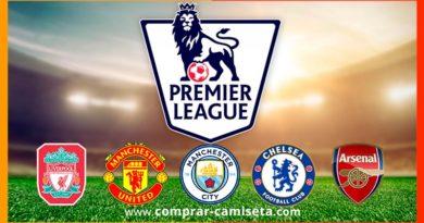Comprar camisetas de equipos de la premier league o liga inglesa de fútbol