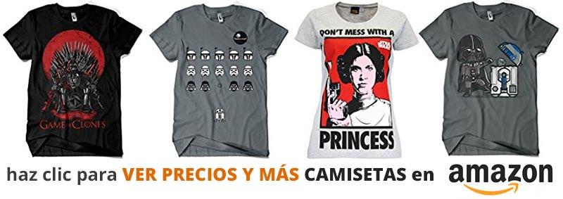 Ver o Comprar camisetas de Star Wars