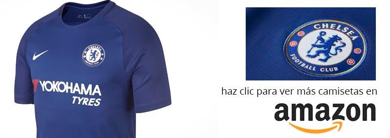 camiseta del chesea temporada 2017 - 2018