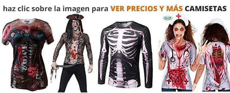 Camisetas para disfraz casero original de Halloween