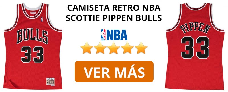 Comprar camiseta retro NBA Bulls de Scottie Pippen