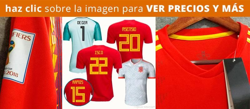 Comprar camiseta de España Barata Mundial de Rusia 2018
