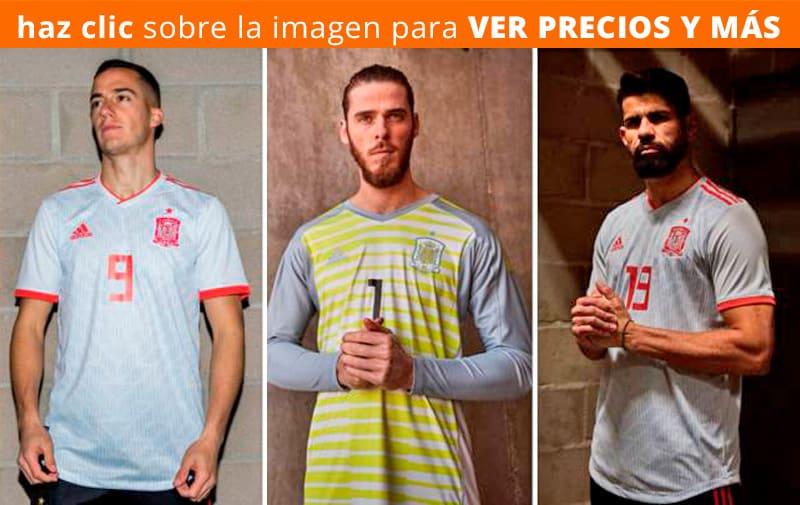 Segunda Camiseta de España Mundial de Rusia 2018