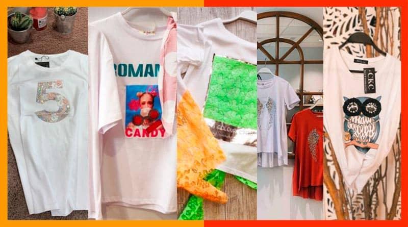 5 camisetas de mujer casual para este verano