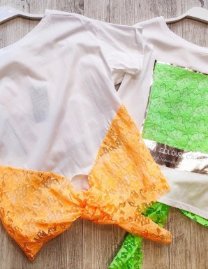 camiseta basic fluor