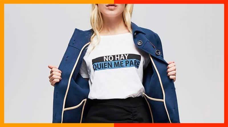 Las camisetas de mujer con mensaje, mucho más que una moda
